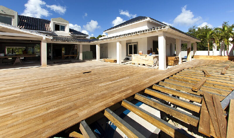 lay-decking-boards-freestanding-deck-how-to-build-a-deck